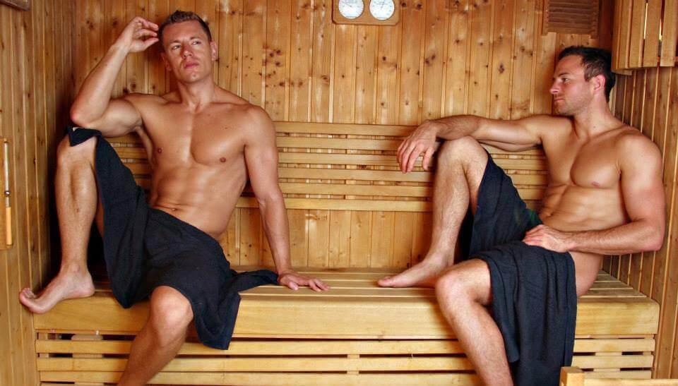sauna gay video
