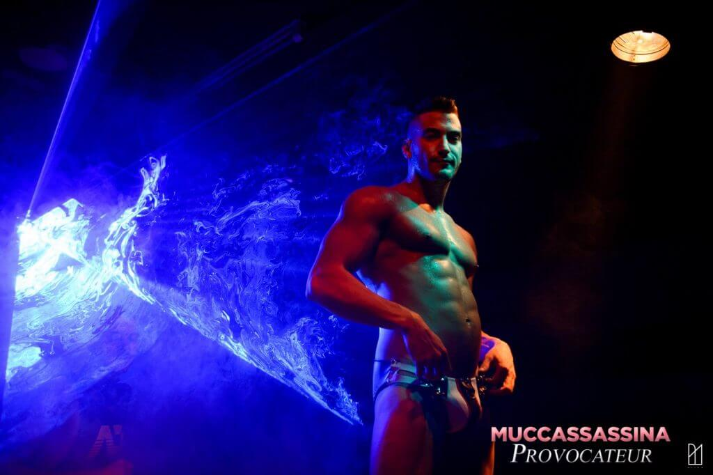 Muccassissina Rome gay party