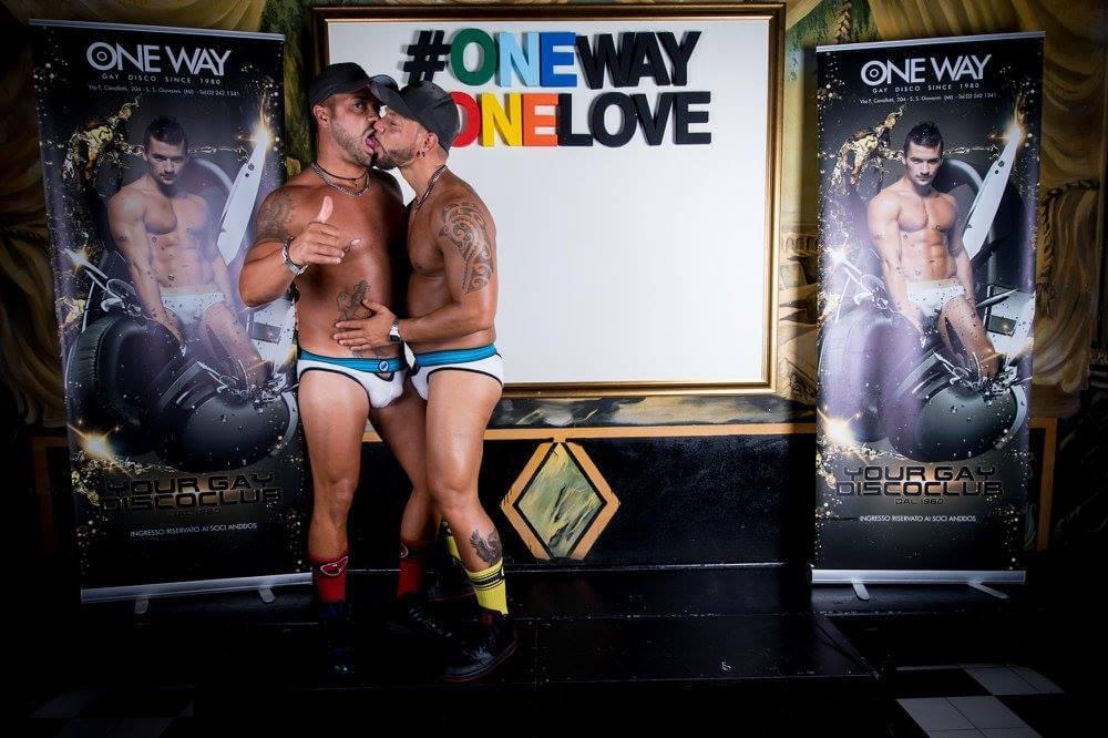 One way milan for Gay club milan