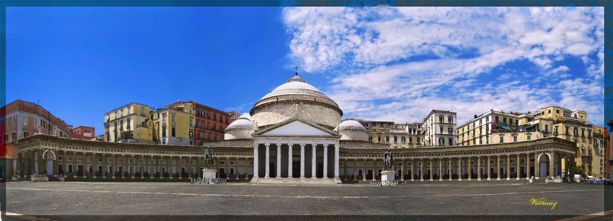 Naples, Plebiscito square
