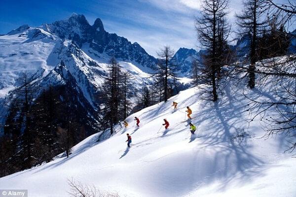 Skii in turin