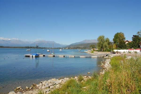 Viverone lake turin for sports lovers