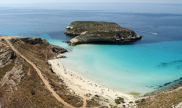 Lampedusa best gay beaches in Italy