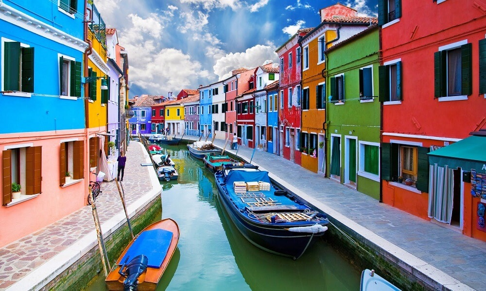 Burano Venice City Guide