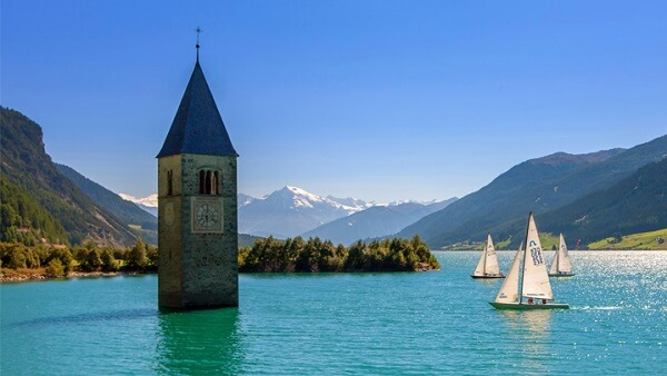 Hidden Gems in Italy Resia Lake