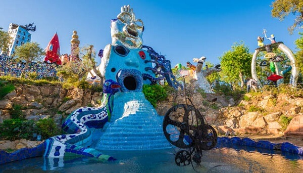 Hidden Gems in Italy Tarot Gardens