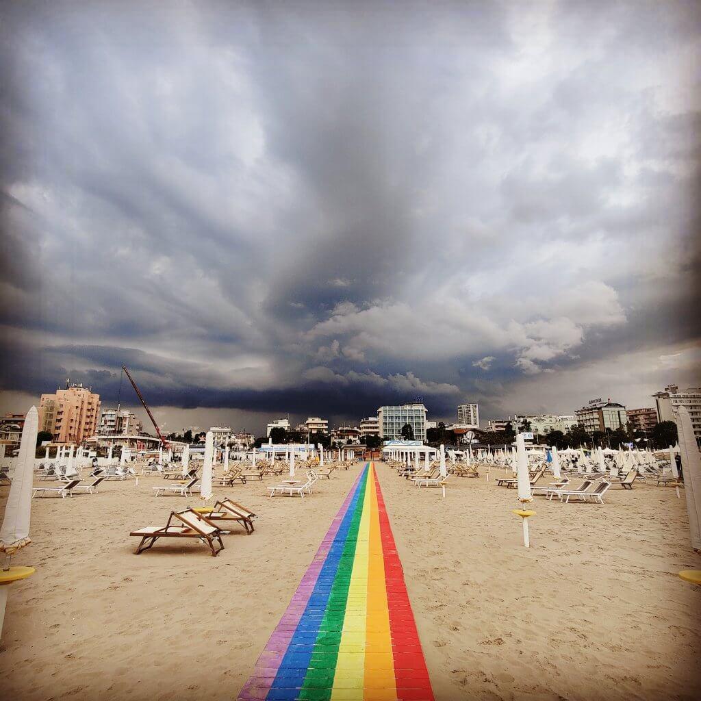 spiagge gay rimini